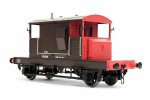 Dapol 7F-100-006 SR Pill Box Brake Van 55526 SR Brown/Red Small Letters